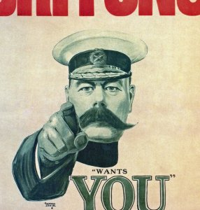 world war propaganda_Britons Lord Kitchener Alfred Leete 1914 example_big