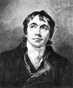 John Philpot Curran (24 Jul 1750 – 14 Oct 1817) Irish orator, politician and wit; Black and White Illustration;