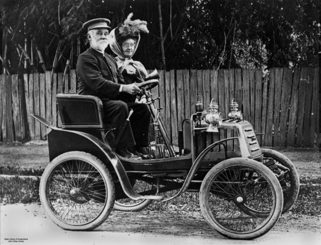 StateLibQld_1_95492_Out_driving_in_an_early_Linon_motor_car_in_Ipswich.jpg